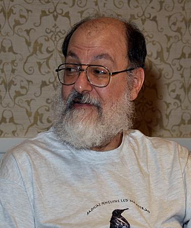 Lo scrittore di fantascienza e ucronia Harry Turtledove