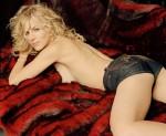 Actress Julie Benz Wearing Denim Hot Pants