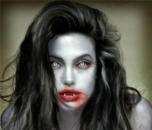 Angelina Jolie vampire