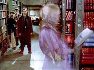 Gli acchiappafantasmi alla Public Library di New York.