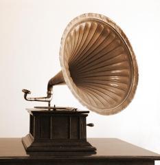 Ah, il peso concreto di un buon grammofono!
