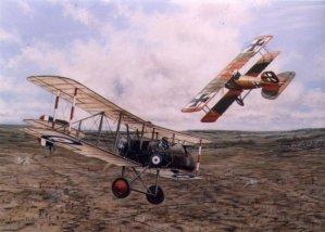 Duello aereo del Barone Rosso.