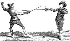 Duello tra due spadaccini spagnoli