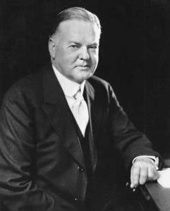 Herber Hoover, 31° Presidente USA.