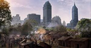 La Hooverville vista nella terza stagione del Doctor Who.