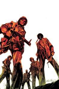 Immagine tratta dalla saga a fumetti American Vampire, e perfetta anche per questo romanzo.