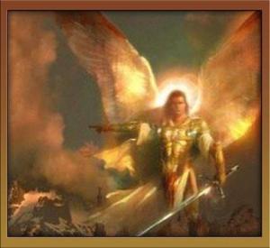Un angelo guerriero. Decisamente non emo.