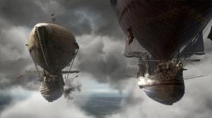 Le navi volanti.