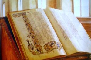 Il Romanzo di Alessandro (copia custodita nella biblioteca malatestiana di Cesena).
