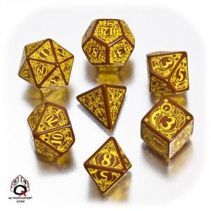 set-di-dadi-steampunk-marrone-e-giallo