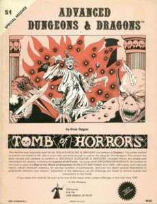 "Lo storico ""Tomb of Horrors""."