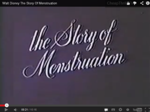 age of menstruation