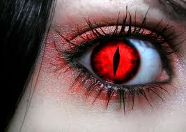energy vampire eye
