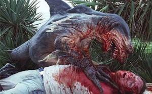 One of the sharkmen!