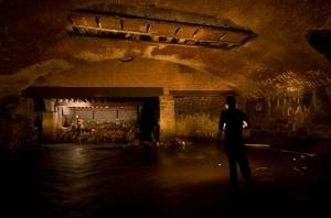 Una cisterna sotterranea, nei pressi di Yonkers (foto di Steve Duncan, tutti i diritti riservati).