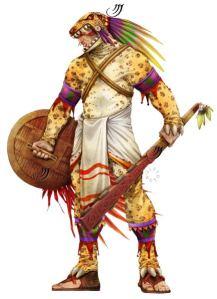 Guerriero Giaguaro. Immaginatelo armato di armi a raggi e protezioni in kevlar.
