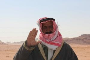 Old Bedouin man