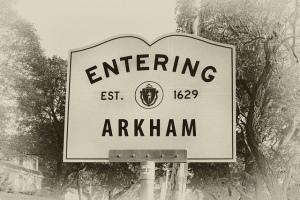 Arkham Indicazione Stradale