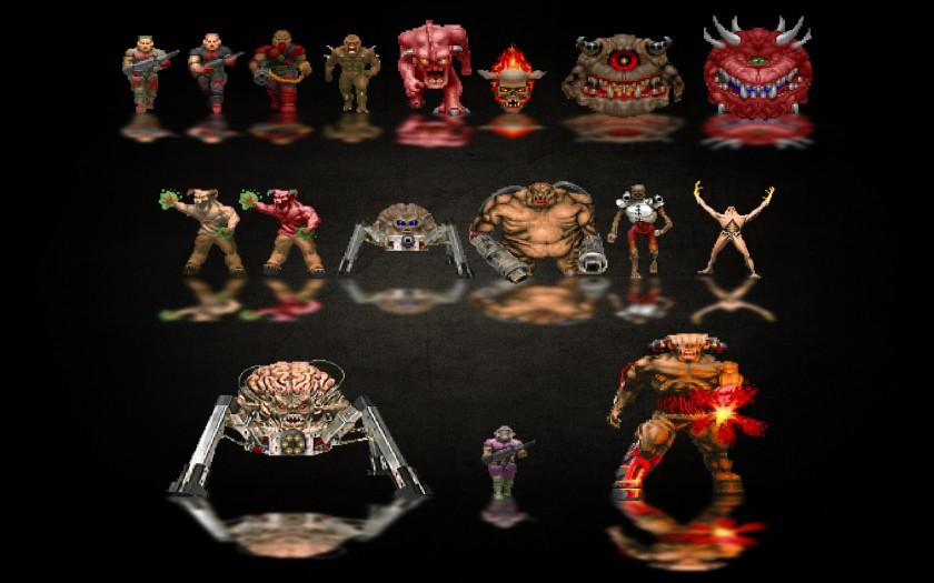 Tutti i mostri di Doom! (cliccate per ingrandire)