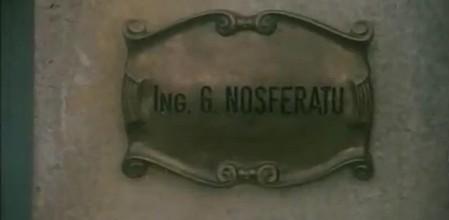 Citofonare Nosferatu.