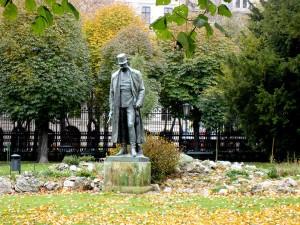Statua di Francesco Giuseppe al Burggarten.