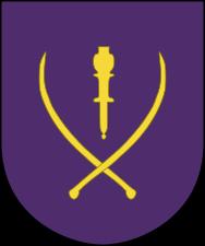 "Simbolo del Corpo d'Armata della XV. SS-Kosaken Kavallerie Korps ""Kosakken""."