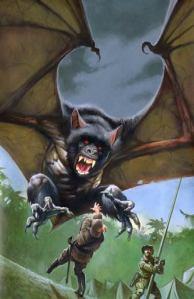 Destriero pipistrello - Corpo degli alani alati austro-ungarici.