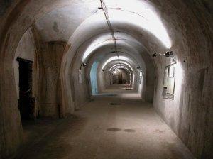 Una galleria della Kleine Berlin, nel sottosuolo di Trieste.
