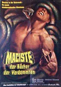 Maciste all'Inferno (locandina tedesca).