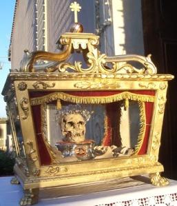 Reliquia di San Prospero.