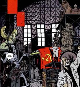 I magazzini segreti delle SS, scoperti dai russi nel 1945 (da BPRD).