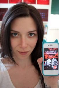 """Cristina Riminucci, AKA Gufine SG, promuove """"La Corte di Paracelso"""" - http://www.amazon.it/dp/B00IPNFUKY"""