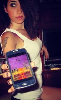"Federica Gentilezza promuove ""Biondin all'Inferno"" (http://www.amazon.it/dp/B00N1A02BI)"