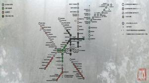 La Crociata dei Bambini - Mappa di Milano