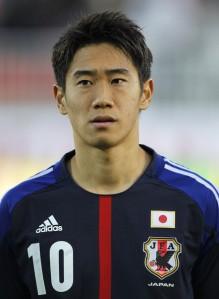Shinji Kagawa (Giappone).