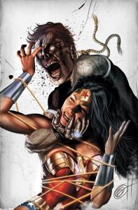 Wonder Woman vs Zombie.