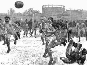 steampunk soccer