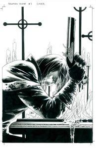 Solomon Kane disegnato da John Cassaday.