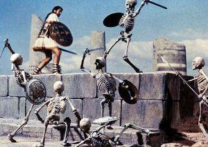 Gli Argonauti - scheletri