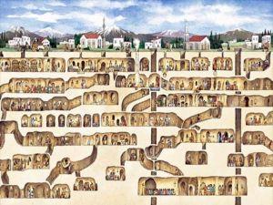 La mappa della città.