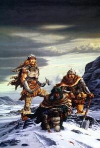 Drizz e Wulfgar