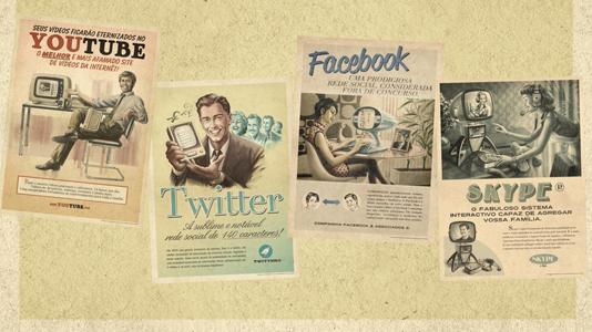 social network vintage