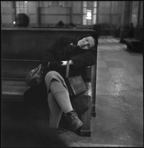 Ugo Mulas - Milano, Stazione Centrale 1953.