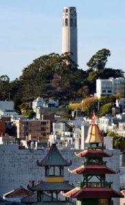 La Coit Tower di San Francisco.