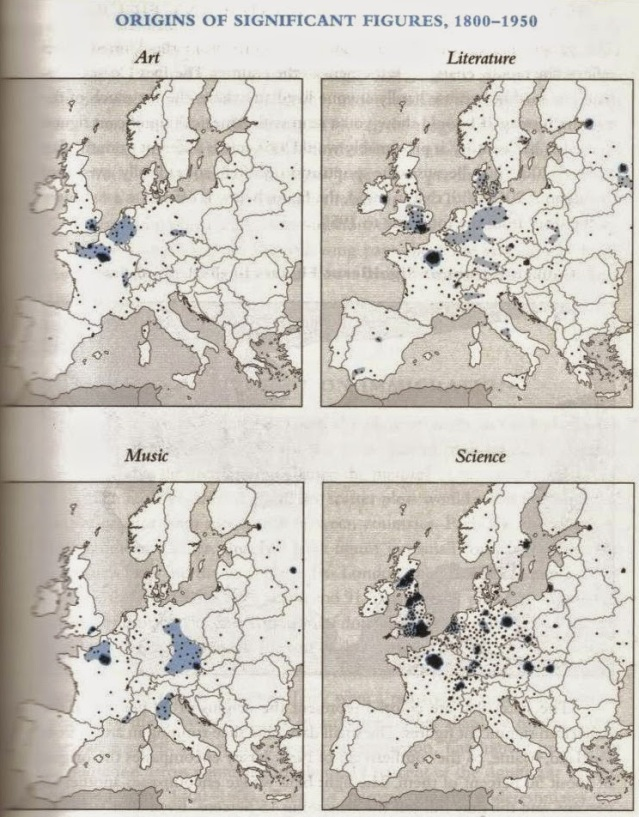 Origine dei geni (1800 - 1850).