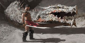 Gladiatore Drago