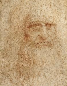Da Vinci autoritratto