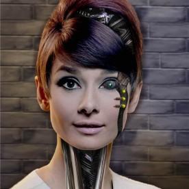 Cyborg Audrey Hepburn