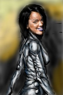 Cyborg Rihanna
