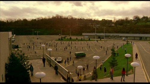 Il parcheggio e gli zombie.